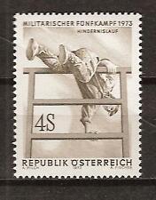 Austria # 946 Mnh Military Championships Hurdles
