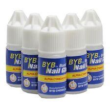 10 Pcs 3g BYB GLUE for ACRYLIC NAIL ART TIPS Decoration Tools