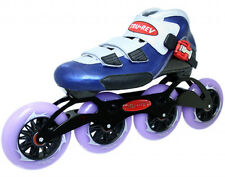 Inline Speed Skates TruRev w/ 110mm skate wheels. Size 9