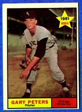1961 Topp  GARY PETERS  (Chicago White Sox) Card # 303 (ex-)