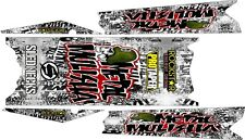 POLARIS RUSH PRO RMK  ASSAULT 144 155 163 TOP side TUNNEL DECAL STICKER  metal 2