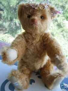 STEIFF / LLADRO AUTUMN TEDDY BEAR LIMITED EDITION 40073 MINT & REDUCED