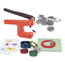 "Badge-A-Minit 1 1/4"" Button Maker Hand Press System #1006"
