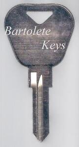 Key Blank Fits 2005 2006 2007 Vespa PX150