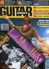 Guitar Part #158 -LA VRAIE RELEVE DU ROCK- Dinosaur Jr, Keren Ann+ DVD exclusif