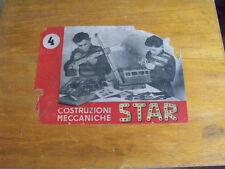 Scatola Costruzioni di metallo anni 50 MECCANO AMI LAC con libretto -Vera Rarità