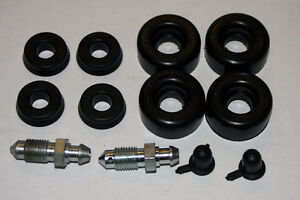 FORD ANGLIA 105E ALL MODELS  NEW FRONT WHEEL CYLINDER SEAL KIT AXLE SET WCK51