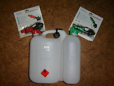 Kombikanister Motorsäge- Arbeiten m. Einfüllsystem Kettenöl/ Kraftstoff Kanister