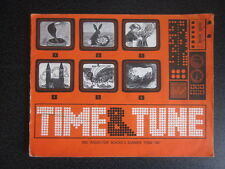 BBC Time and Tune  - Summer 1967 - Children Songbook