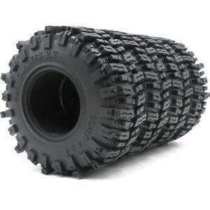 4pcs RC 2.2 Mud Slingers Soft Tires OD 124mm Fit 2.2 Rock Crawler beadlock Rims