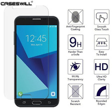 For Samsung Galaxy J7 Perx - Ultra Clear Tempered Glass LCD Screen Protector