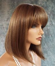 """TATUM"" RENE OF PARIS AMORE MONO TOP WIG *COLOR MARBLE BROWN NEW IN BOX W/TAGS"