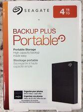 Seagate Backup Plus 4TB Portable External Hard Drive - New, Free Shipping