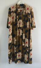 ORLA KIELY SILK CREPE GATHERED DRESS - Size UK6 / US-2 / EUR 34 / FR 34