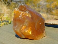 Orange Calcite Rough Energy Stone for Sacral Chakra to Amplify Energy Creativity