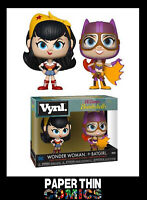 DC BOMBSHELLS 2 VINYL FIGURES 2 PACK WONDER WOMAN AND BATGIRL 10 CM FUNKO POP!