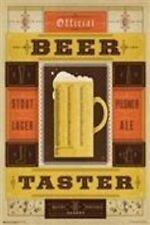 DRINKING POSTER Official Beer Taster