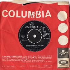"FRANK IFIELD - NOBODY'S DARLIN' BUT MINE - RARE 7"" 45 VINYL RECORD - 1963"