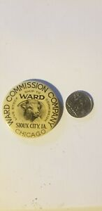 Ward Commission Co. Celluloid Pocket Mirror