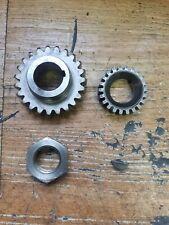 Can-Am MX-2 250 1976 Crankshaft crank shaft Primary drive gear rotary valve