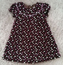 Isabel Garreton Toddler Girls 2T Short Sleeve Wool Blend 3D Polka Dot Dress