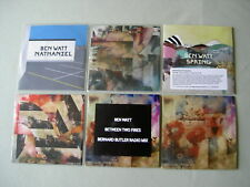 BEN WATT job lot of 6 promo CDs Between Two Fires Fever Dream Spring Nathaniel