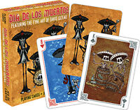 Dia De Los Muertos playing cards brand new sealed