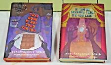 "qty 2,  Pseudonymous Bosch hbdj ""this book is not good for you"" + ""If you're Re"