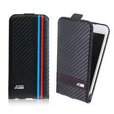 Officiel BMW iPhone 6 6S Carbone Effet En Cuir Rabattable coque pour 11.9cm