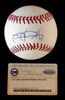 Juan Lagares New York Mets Padres Autographed Signed Baseball Steiner COA