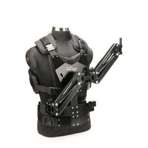 Flycam galaxy steaycam double bras gilet pour stabilisateur caméra vidéo dslr