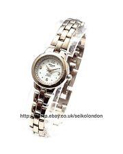 OMAX Damen Strass Zifferblatt Armbanduhr, silber Verzierung, Seiko (Japan)