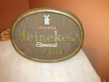 Heineken Beer Sign Special Dark Imported Vintage