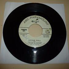 ROCKABILLY 45 RPM RECORD - CLIFF RICHARD - ABC PARAMOUNT 10042 - PROMO
