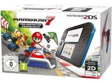 Nintendo 2ds Schwarz/blau Inkl. Mario Kart 7