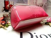 """Dior Makeup Bag✰☾Red Gradient Glossy Cosmetic Bag☽✰"""" Lucky Star """"~ ☾FREE POST!!☽"""