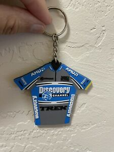 TREK Discovery Channel Pro Cycling Team Jersey Keychain TdF Lance Armstrong Tour