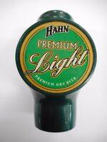 HAHN PREMIUM LIGHT BEER ADVERTISING TAP TOP ............