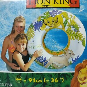 "The Lion King inflatable swim tube 36"" by Intex #58220M"