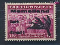 Memelgebiet-Lokalausgabe III Type III postfrisch 1939 Lokal-Ausgabe (8731655