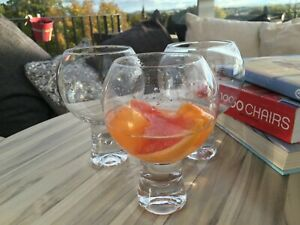 Gin and Tonic Drinking Glasses Set 3