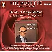 Haydn: 3 Piano Sonatas, Fantasia in C, Adagio in F. Alfred Brendel Rosette 2004