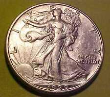 1929-D Walking Lib Half Dollar ~Gem Nearly Uncirculated ~Rare Date  ☆Make Offer☆