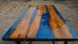 """72"""" x 36"""" Epoxy Resin Coffee Table Top / Counter Home / Office Decor"""