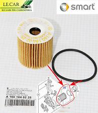 CARTUCCIA FILTRO OLIO + O-RING SMART 452 ROADSTER 4/2003 > 12/2005 ORIGINALE