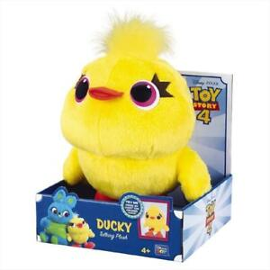 """Toy Story DUCKY Plush 9"""" Deluxe Talking Toy"""