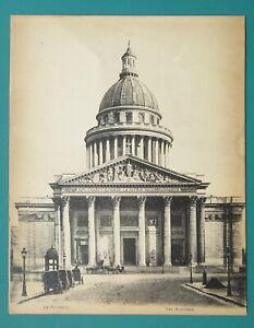 HISTORIC PARIS Pantheon Church Mausoleum - ca 1915 Photo Collotype Print