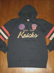 Mens XL sweatshirt NBA hoodie NY Knicks Mitchell & Ness Championship 1969-1970