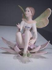 +# A011692 Goebel Archiv Muster Laszlo Ispanky Elfe sitzt auf Seerose Limited