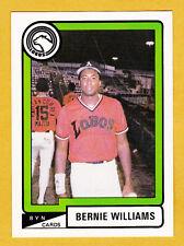 BERNIE WILLIAMS LOBOS DE ARECIBO (UPDATE SET) 1988-89  PUERTO RICO #A-45 #13OF64